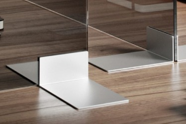 Lucid Desk and Floor Dividers